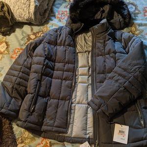 Calvin Klein puffer plus size jacket.